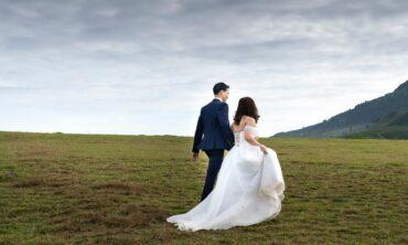 Plenerowe sesje ślubne